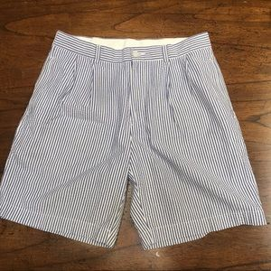 BROOKS BROTHERS 346 - Men's Seersucker Shorts